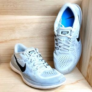 Nike Flex RN Pure Platinum/Black-Wolf Grey Shoes